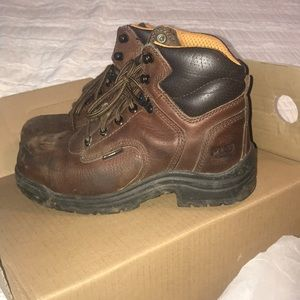 Worx by red wing shoes steel toe boots 38.5